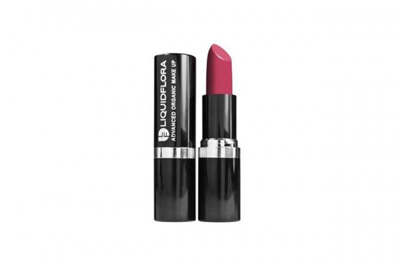 organic lipstick liquidflora rose divine