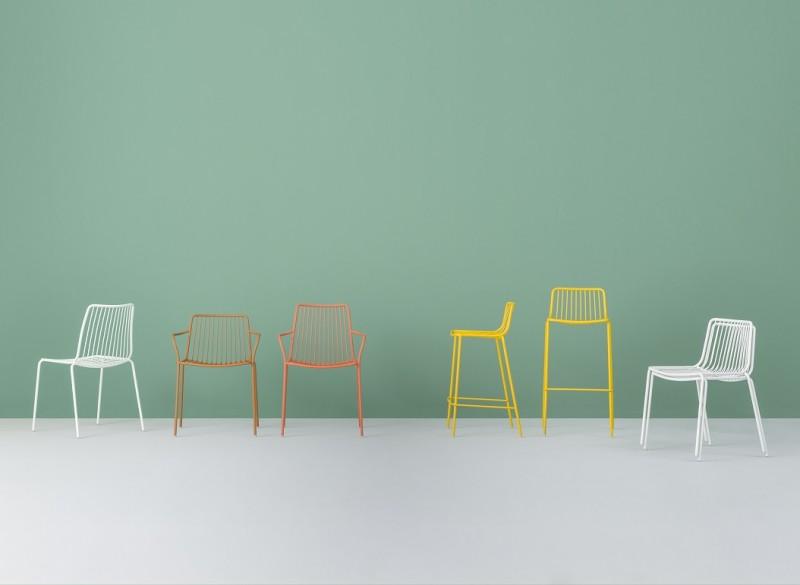 La collezione di sedute Nolita di Pedrali
