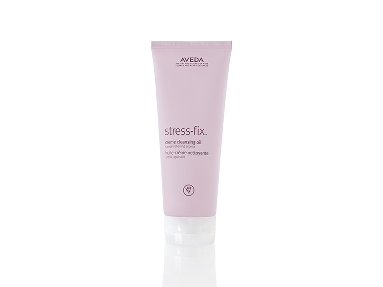 stress-fix creme cleansing oil aveda