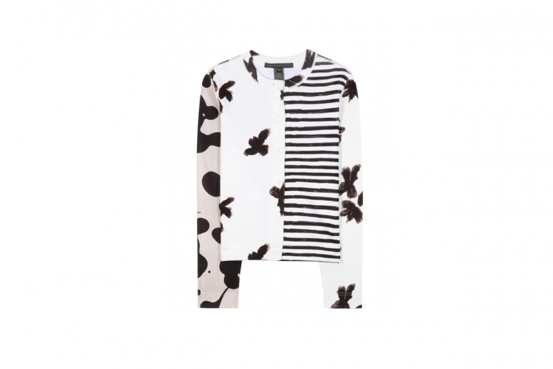 Tendenza patchwork: cardigan Marc by Marc Jacobs