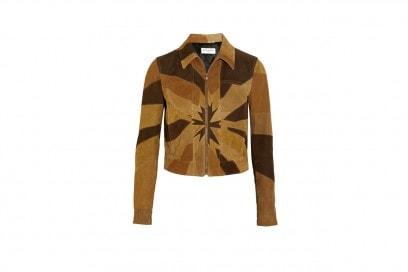 Tendenza patchwork: giacca Saint Laurent