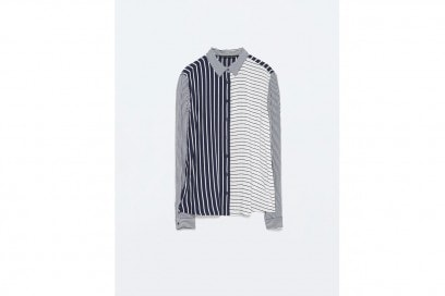 Tendenza patchwork: camicia Zara
