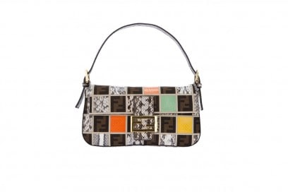 Tendenza patchwork: borsa Fendi