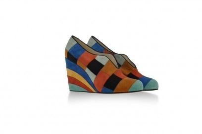 Tendenza patchwork: scarpe Ferragamo's creations