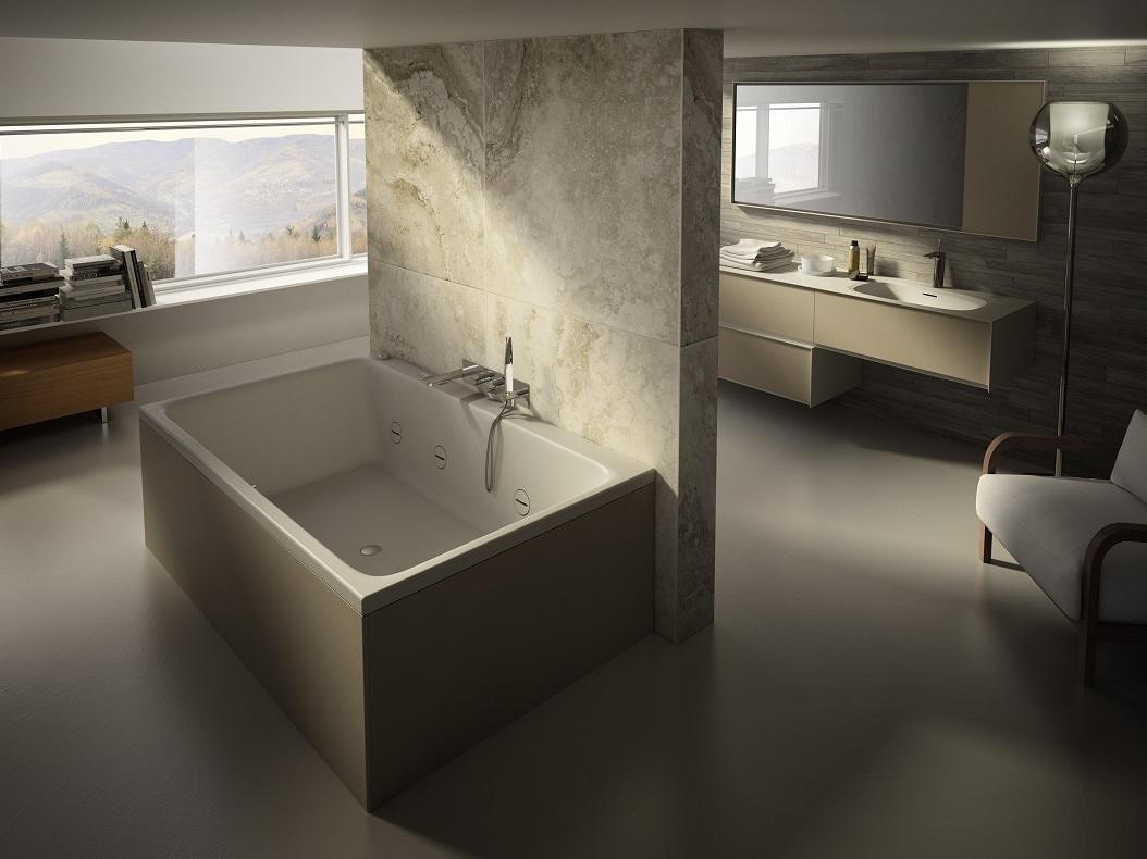 Teuco la vasca da bagno diva foto - Vasca da bagno libera installazione ...