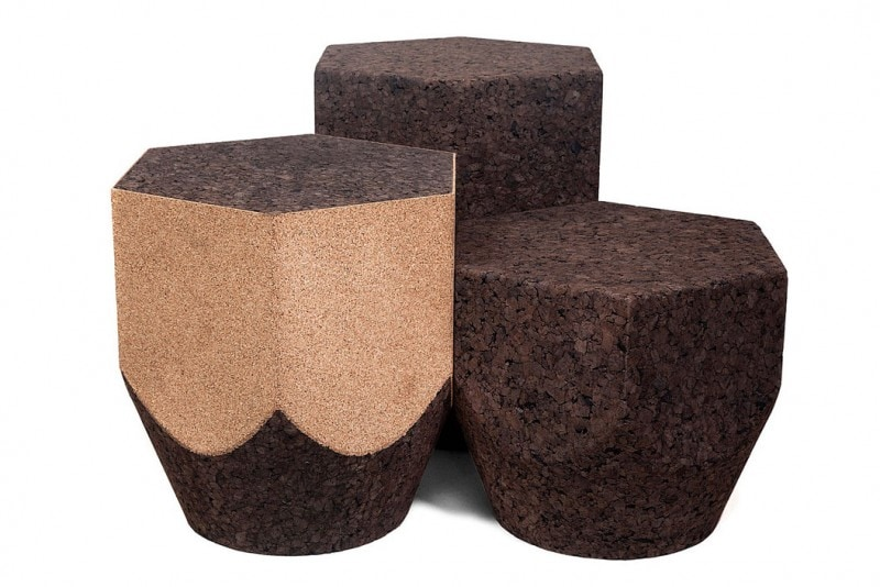 thumbs 8560 Blackcork Pencil low tables natural black white cork Luis Nascimento.jpg