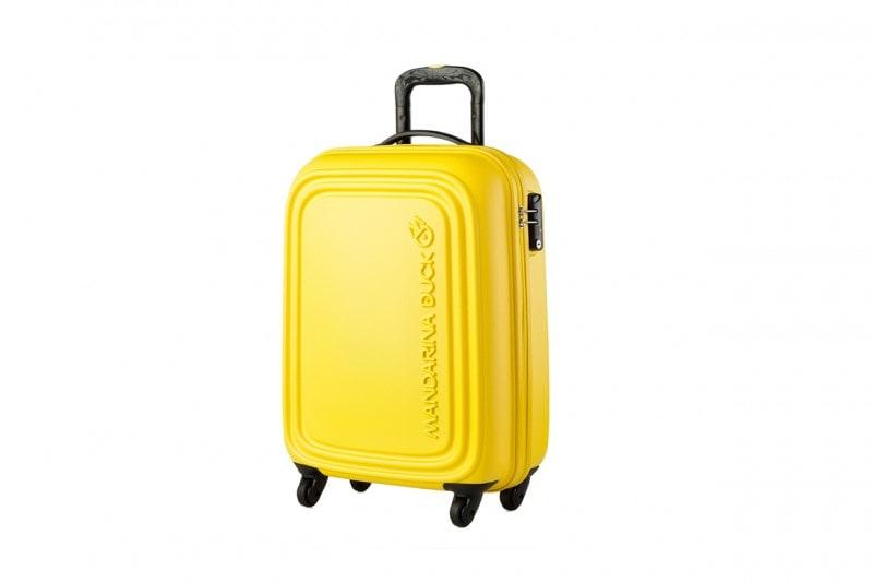 valigia per la riviera romagnola: trolley MANDARINA DUCK