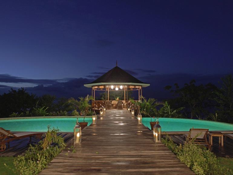 Villa susanna un sogno di design nel cuore dei caraibi for Piani di casa dei caraibi