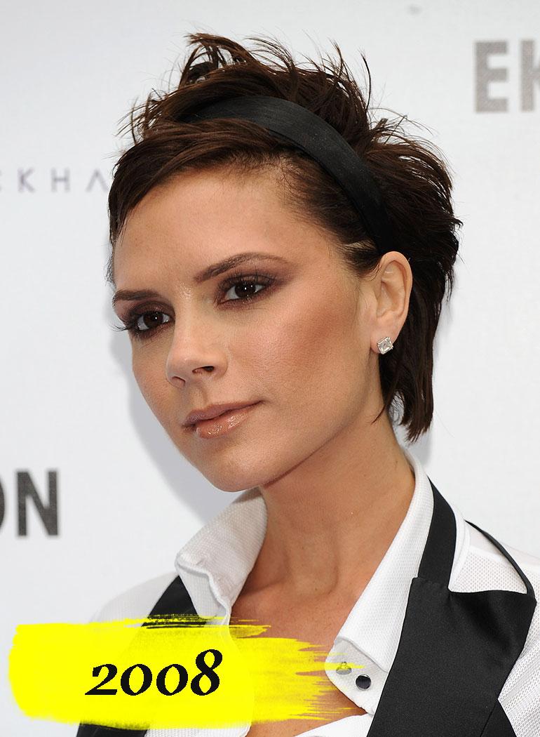 grande varietà ultima selezione lussureggiante nel design Victoria Beckham: l'evoluzione dei suoi capelli