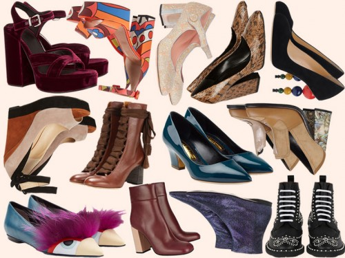 Le scarpe per l'Autunno Inverno 2015 Grazia.it