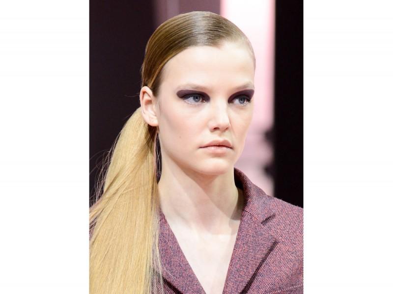 Christian Dior capelli raccolti