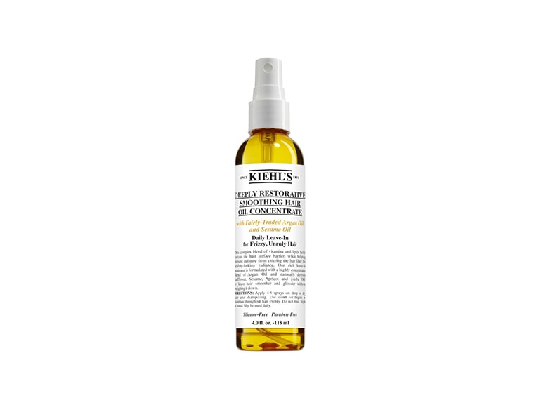 Kiehl s Trattamento Styling Deeply Restorative Smoothing Hair Oil Concentrate