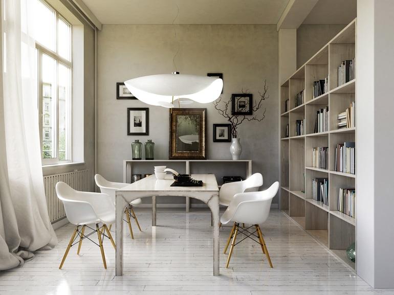 Esszimmer in Altbau – dining room in Loft apartment