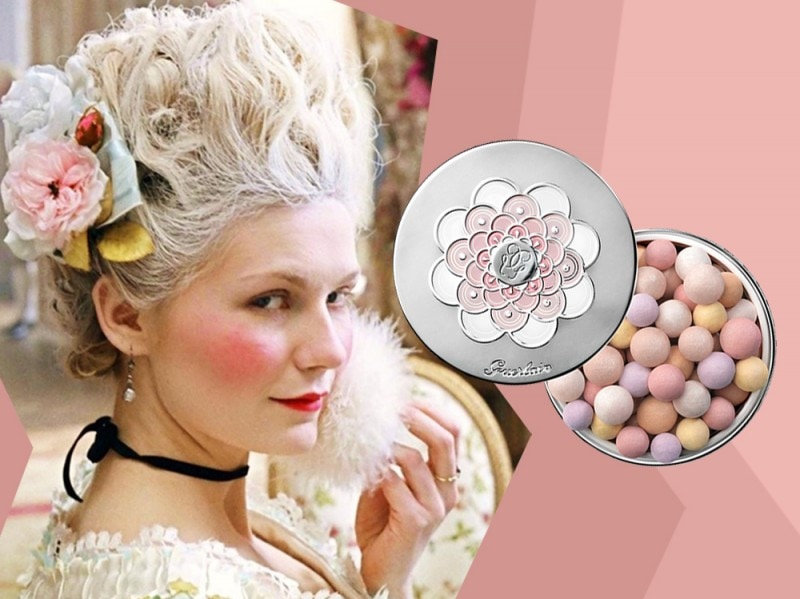 Marie Antoinette make up Kirsten Dunst