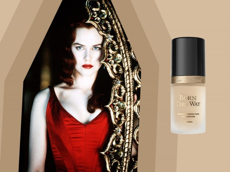 Moulin Rouge Make up Nicole Kidman
