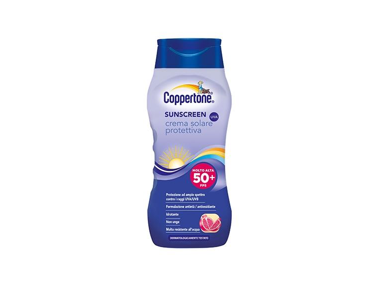 Sunscreen crema solare protettiva fps 50+