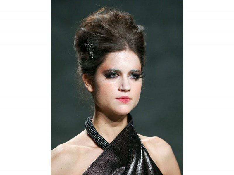 Venexiana capelli raccolti