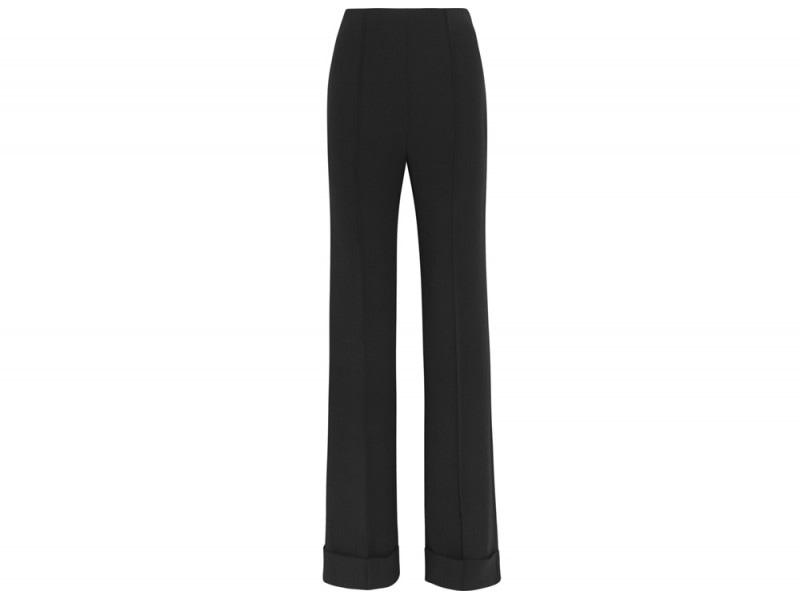 agnona-pantaloni-flared-neri
