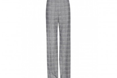 alexander-wang-pantaloni-check-grigi