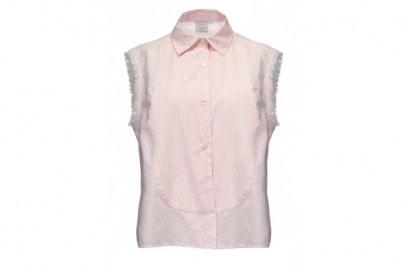 camicia smanicata pinko