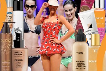 Make up corpo: fondotinta, spray gambe e oli perfezionatori