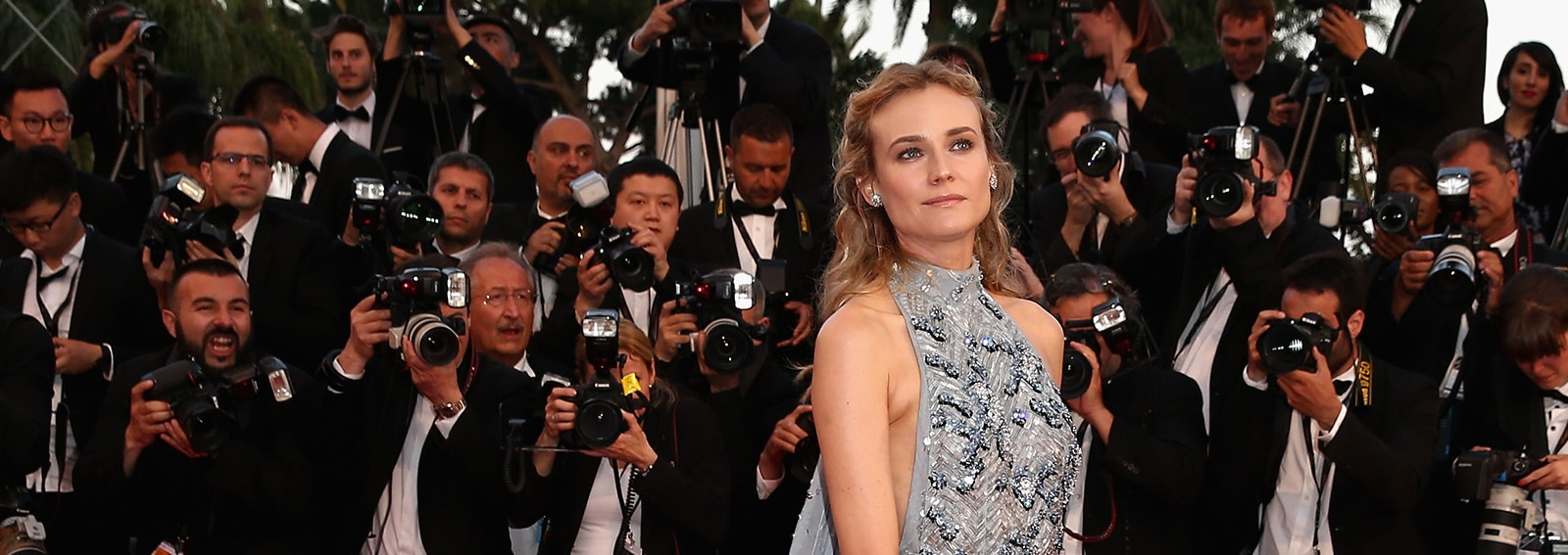 cover Diane Kruger beauty look  wide