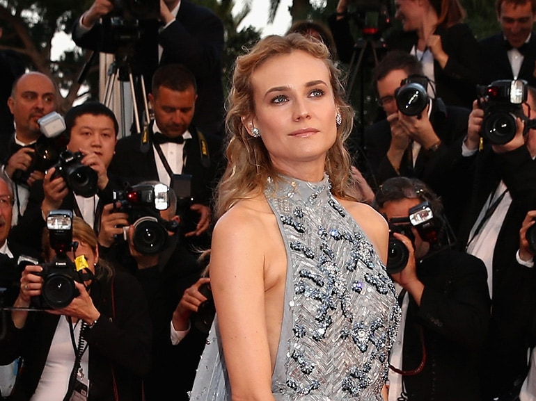 cover Diane Kruger beauty look  mobile