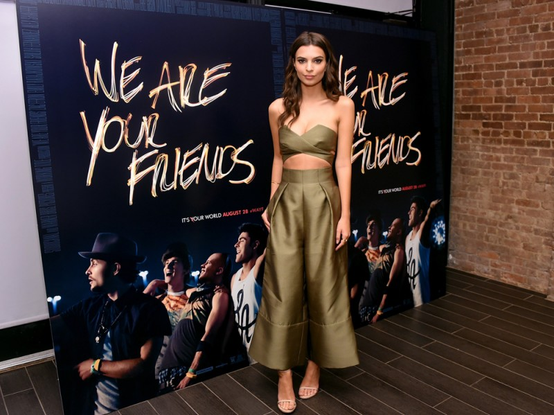 emily ratajkowski we are your friends getty images
