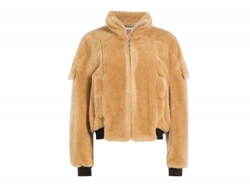 j-w-anderson faux fur giacca