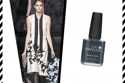 trucco-abiti-bianco-nero-Diane-Von-Furstenberg-CND