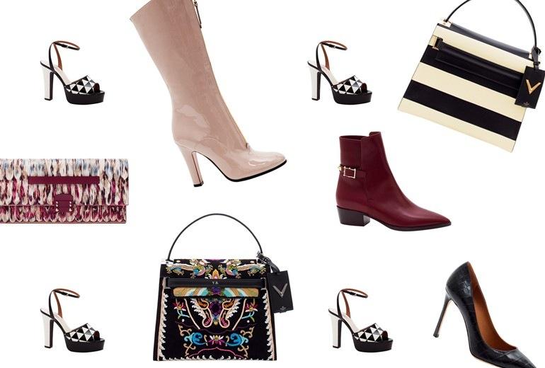 Valentino: borse e scarpe per l'Autunno-Inverno 2015