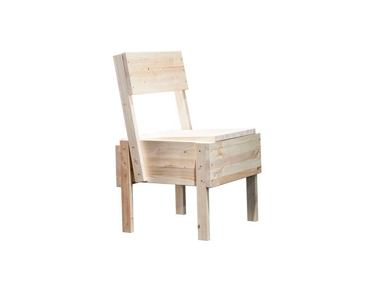 «Sedia 1» , la seduta progettata da Enzo Mari nel 1974