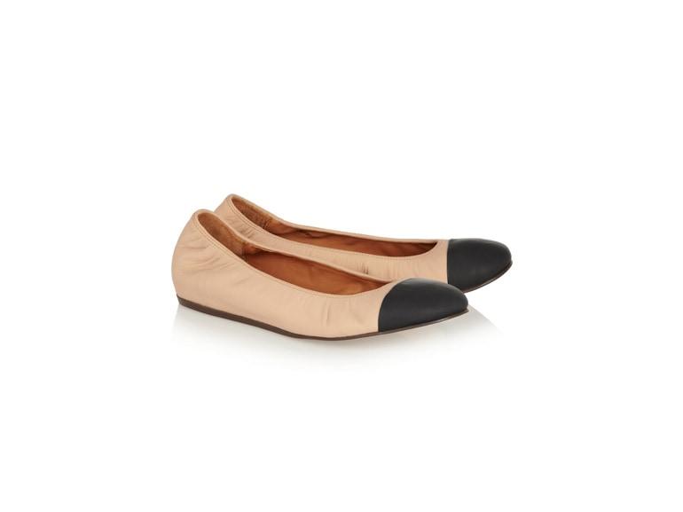 3_LANVIN-Two-tone-leather-ballet-flats_NET