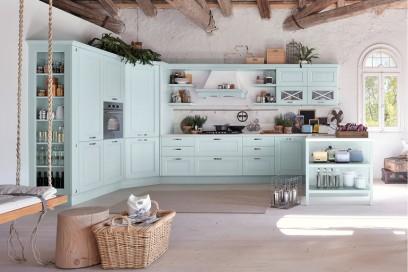 Case Stile Countryfoto : Le cucine in stile country foto grazia