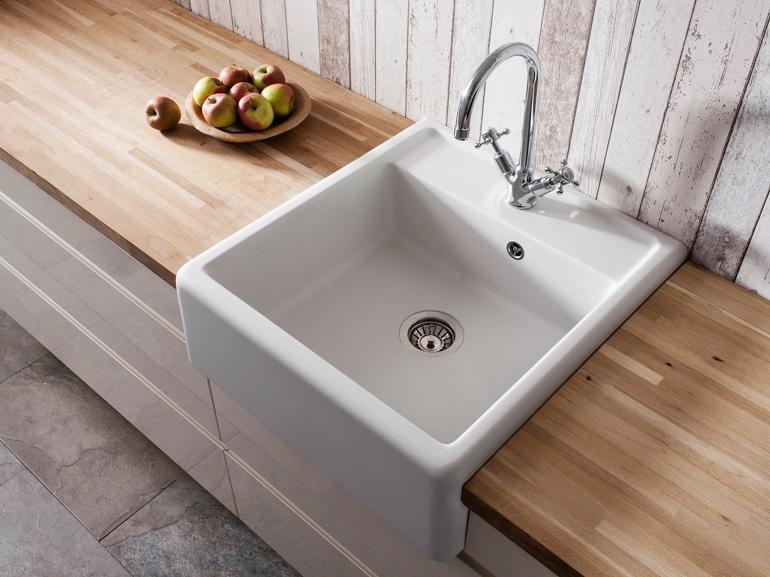 10 lavelli di design per una cucina bella e funzionale - Lavandini da cucina in ceramica ...