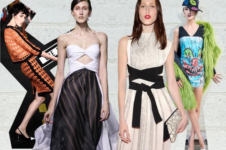 I look di Anna Cleveland, modella rivelazione delle ultime Fashion Weeks