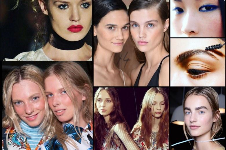 Tendenze beauty dalla London Fashion Week PE 2016: a noi gli occhi!