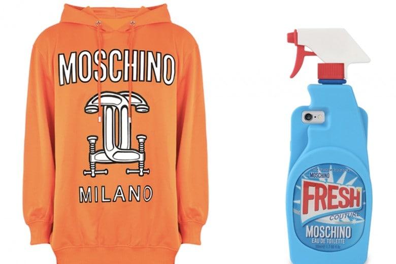 Moschino PE 2016: la capsule collection è già in vendita