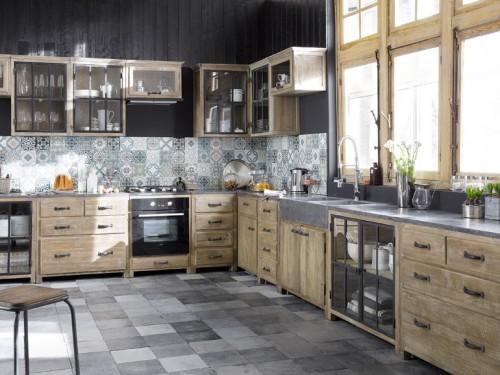 Cucina country di maisons du monde foto grazia.it
