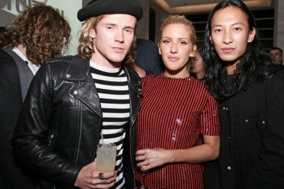 Dougie-Poynter,-Ellie-Goulding-and-Alexander-Wang