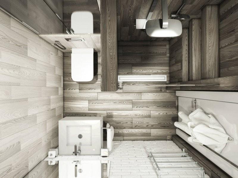 Rivestimenti per il bagno 10 idee decor da copiare - Bagno gres porcellanato ...