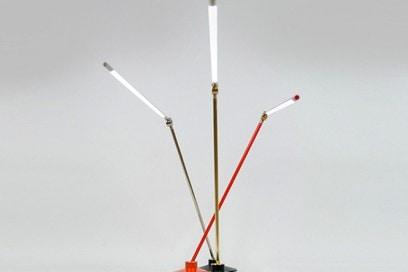Thin Led Lamp by Peter Bristol e Juniper