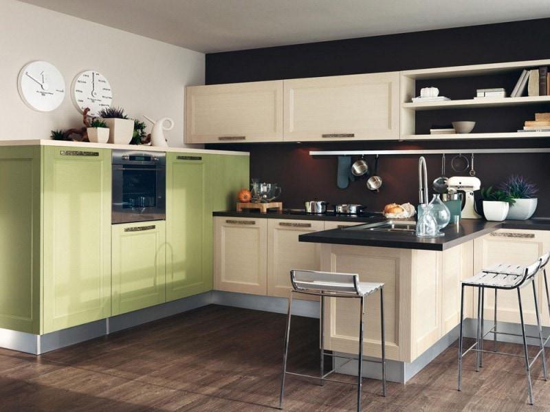 La cucina Georgia di Lube