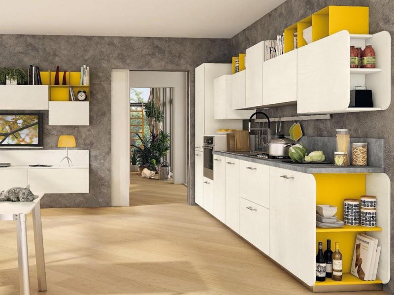 La cucina Immagina di Lube