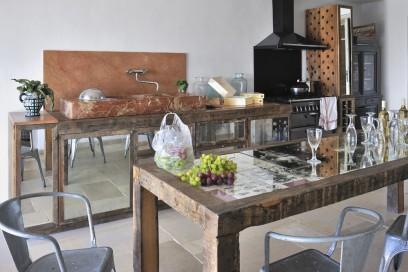 La cucina quasi spartana