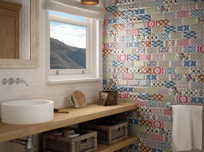 Rivestimenti per il bagno 10 idee decor da copiare for Maioliche da cucina