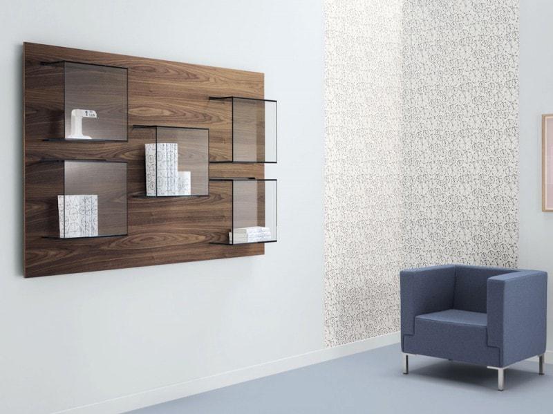 10 librerie da parete funzionali e di design for Librerie di design a parete