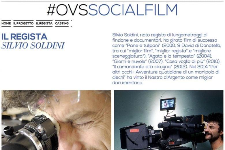 OVS presenta il progetto #OVSSOCIALFILM