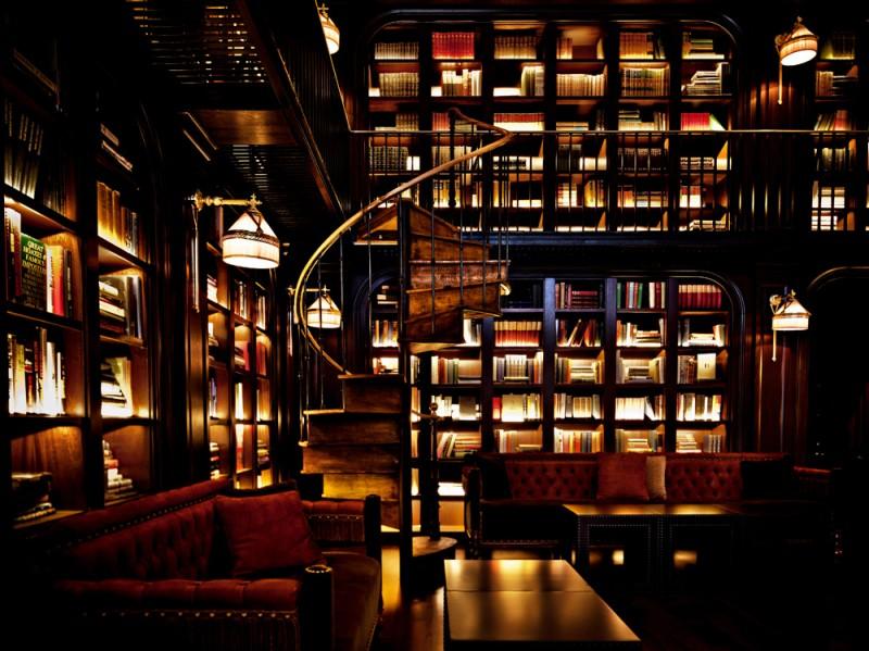 The NoMad la biblioteca