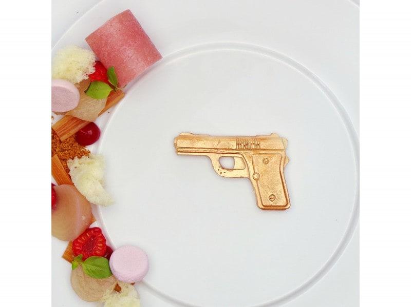 Un piatto del ristorante Damianz